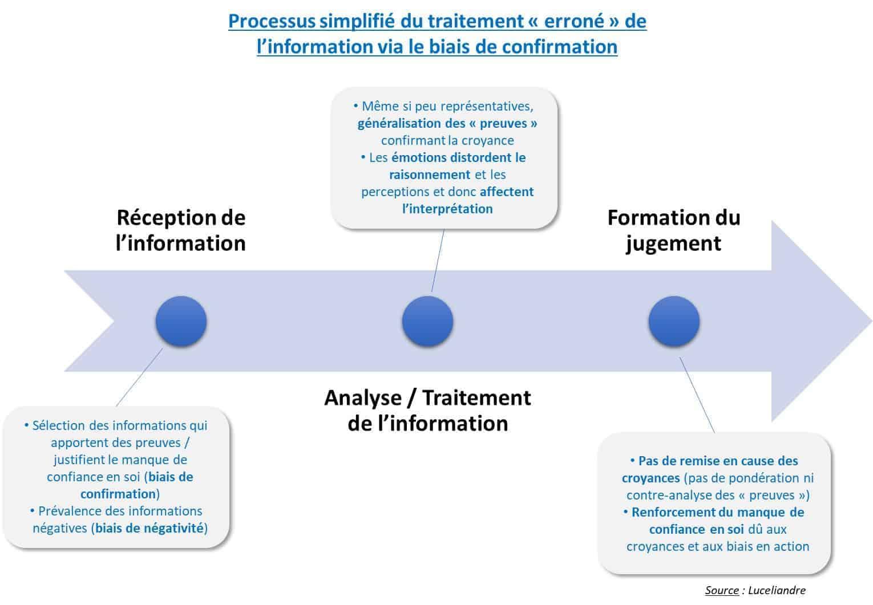 biais de confirmation processus simplifie