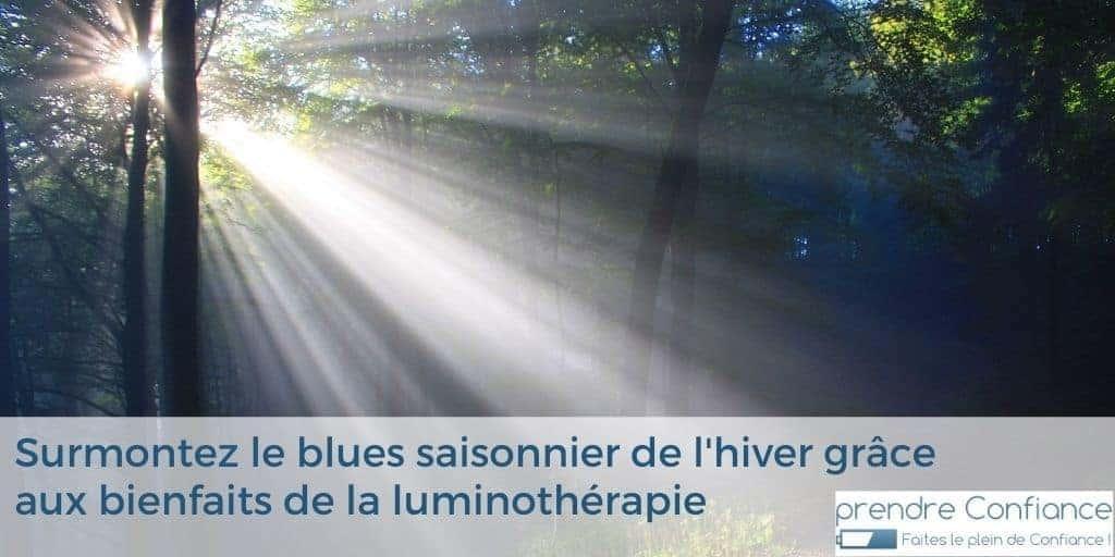Bienfaits de la luminothérapie et dépression saisonnière